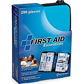first aid, first aid kit, red cross