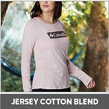 Soft Jersey Cotton Blend