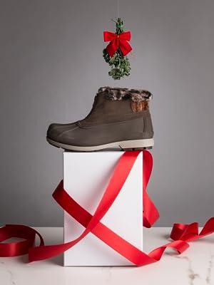 lumi ankle zip; wide width boot