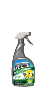 Pulverize Weed Killer for Lawns - Ready-to-Use Trigger Sprayer