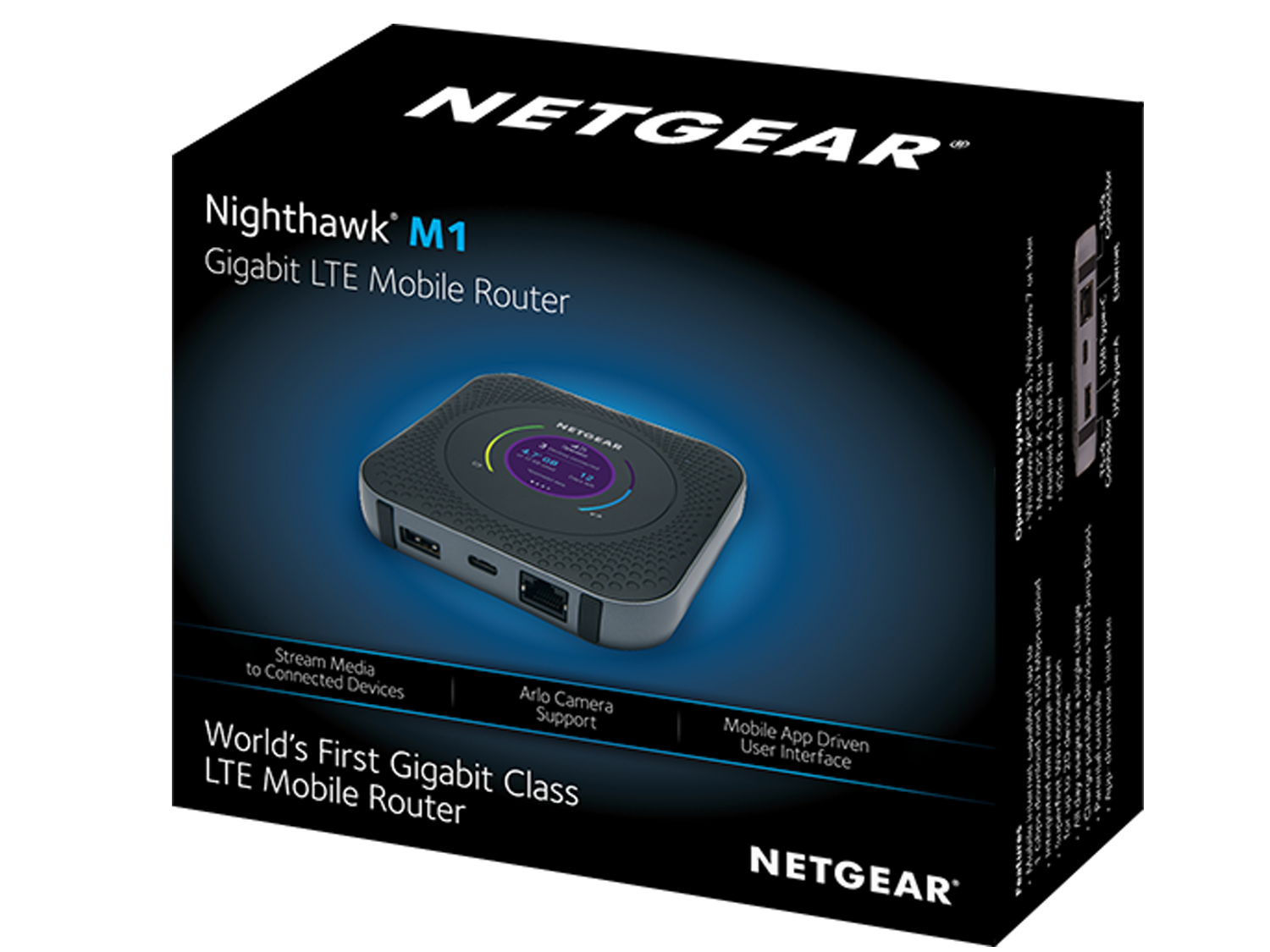 netgear mr1100 100eus nighthawk lte mobile hotspot router. Black Bedroom Furniture Sets. Home Design Ideas