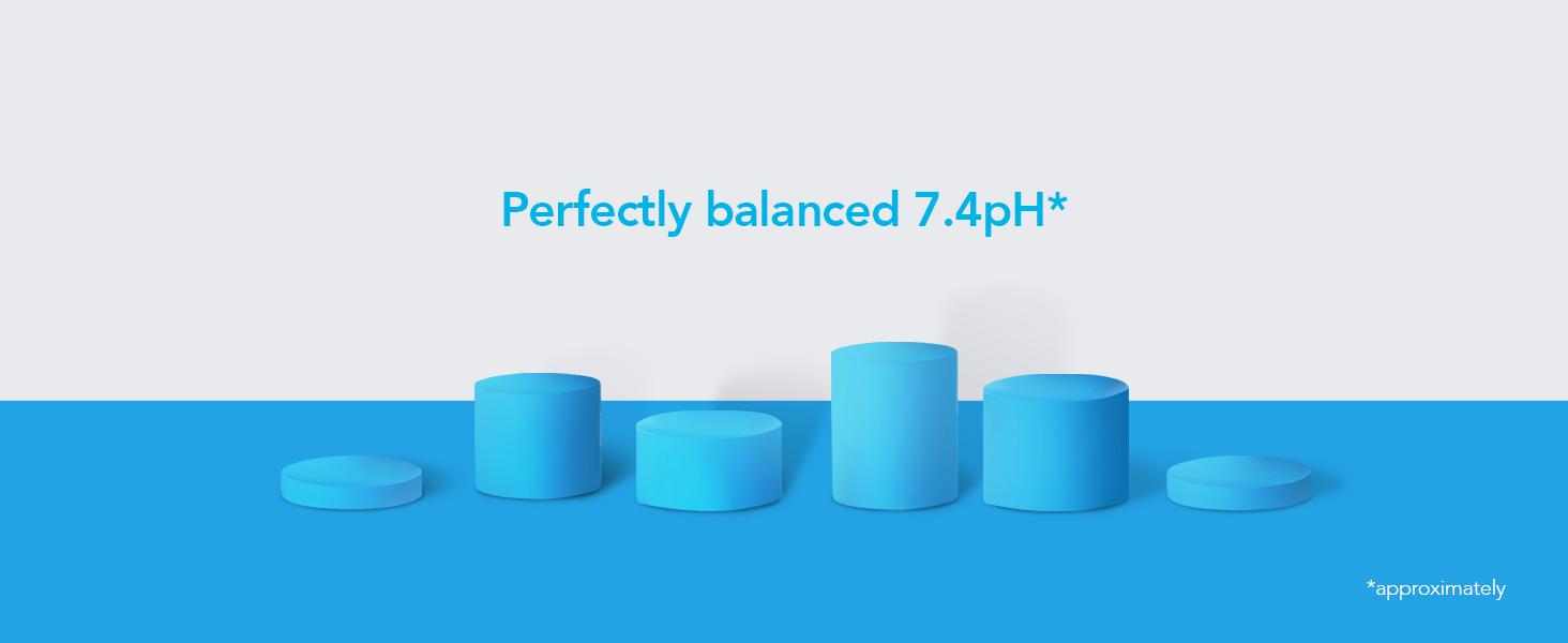 Perfectly balanced 7.4pH*