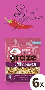 Graze Sharing Bag  Sweet Chilli Crunch