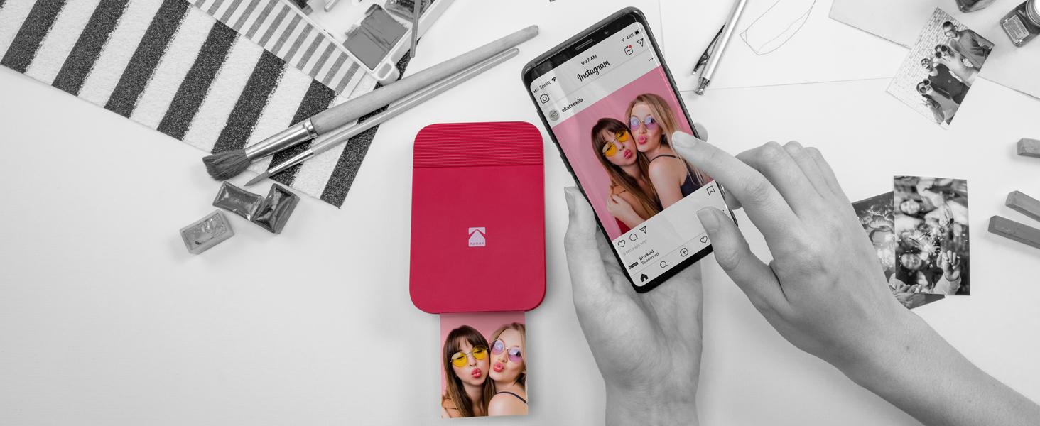Kodak Smile Printer download app edit print share