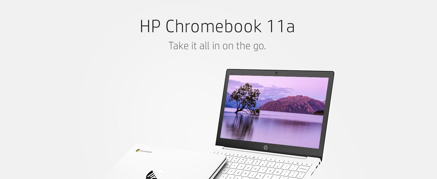 Hewlett-packard hp-laptop chrome-book computer 11-inch wire-less touch-screen computadora portable