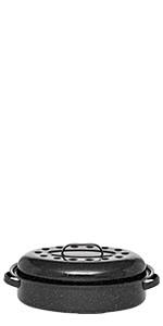 Neuf ♡♡ GRANITEWARE ♡♡ Grille pour Roaster format Petit 25 x 17 x 10 cm