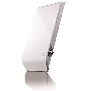 One For All SV9450, Antena de TV para Exterior Amplificada, Recibe TDT en un rango de 25km, Antena HDTV Digital, 100% impermeable, Incluye Cable ...