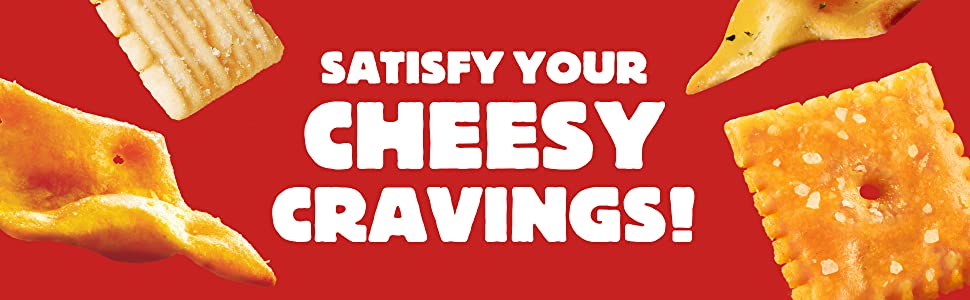 Cheez It Original Cheez It Snapd and Cheez It Grooves fulfills your cheesy cravings