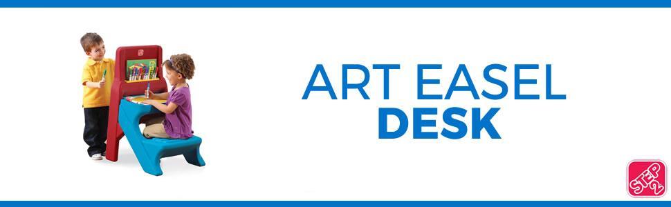 Amazon Com Step2 Art Easel Kids Desk Toys Amp Games