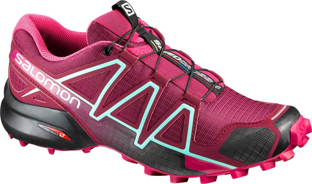 Salomon Speedcross Pro 2 Schwarz-Pink, Damen Trailrunning- & Laufschuh, Größe EU 38 2/3 - Farbe Black-Virtual Pink-Black Damen Trailrunning- & Laufschuh, Black - Virtual Pink - Black, Größe 38 2/3 - S