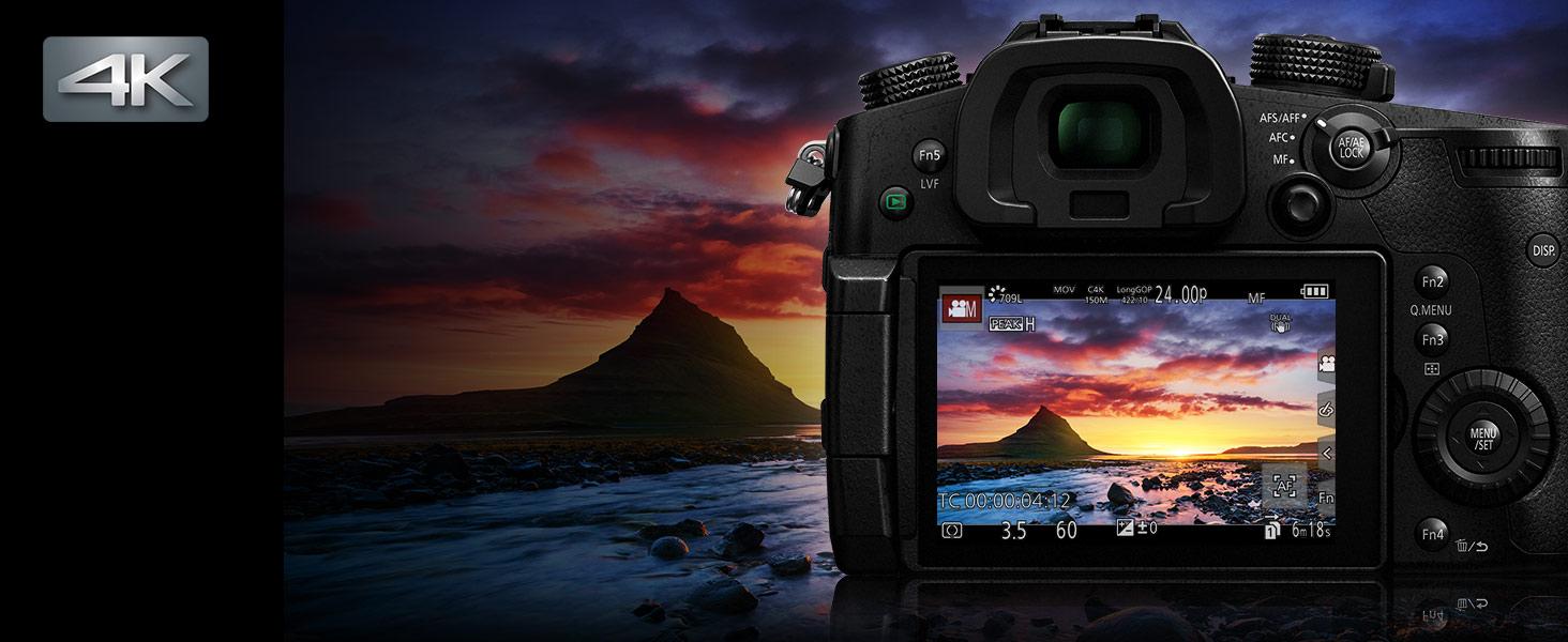 LUMIX DC-GH5KBODY - world's first 4K 60p/50p smooth quality video