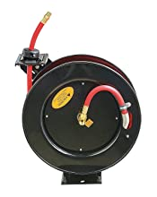 reelworks l805083a steel retractable air hose reel