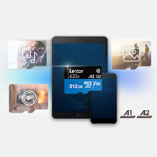 fast reliable quality lexar microsd card