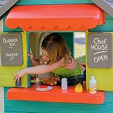 Chef House Maisons Maison Cabane Cabanes Enfant Jeu Jeux Jouet Jouets Enfants Maisonnette Restaurant