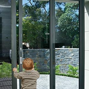 baby proofing sliding door locks