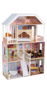 KidKraft Savannah Dollhouse, Wooden Dolls House, KidKraft Dollhouse