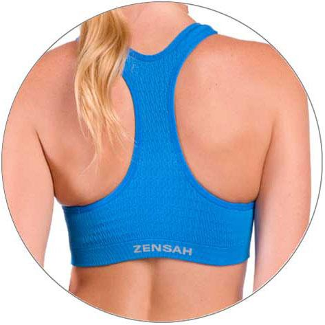 145d7a1b9f3f1 Amazon.com  Zensah Seamless Sports Bra - Best Sports Bra Running ...