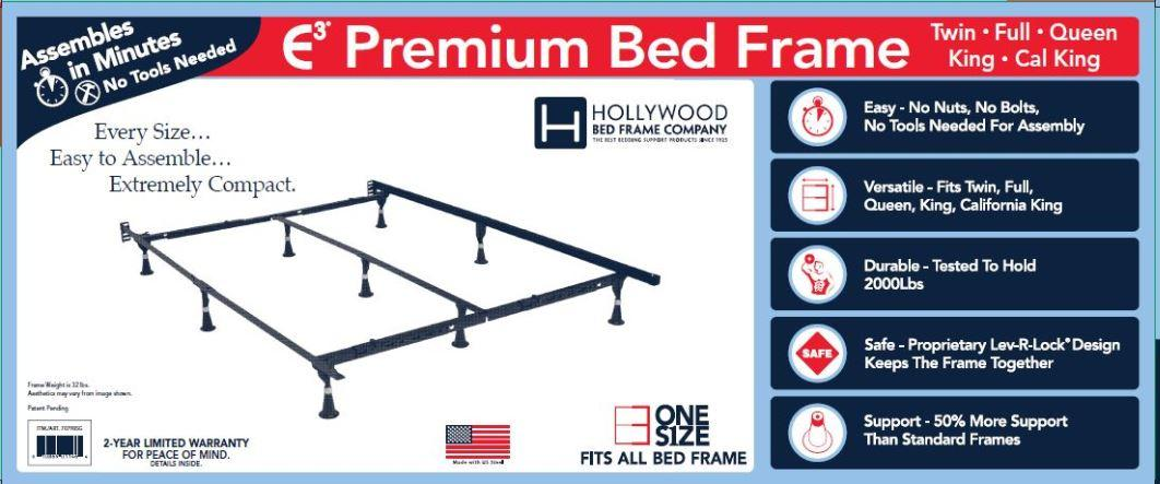 Amazon Com Hollywood Bed Frames E3 Premium Bed Frame Kitchen Dining