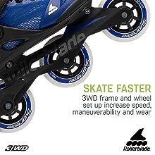women skates, rollerblades, womens rollerblades 84mm wheels, safer roll, women inline skates