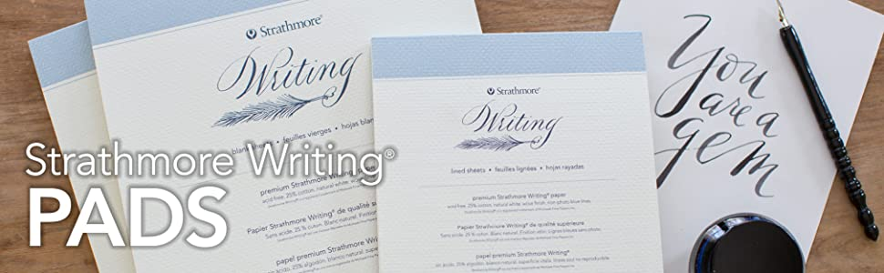 Strathmore Writing Pads