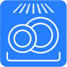 Herdschutzgitter für die Spülmaschine geeignet Icon