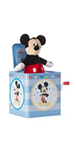 Mickey Mouse jack in the box