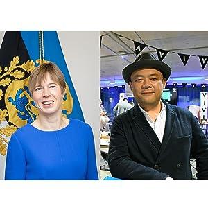 エストニア大統領、孫泰蔵氏
