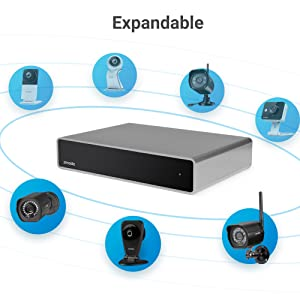 Zmodo Full HD 1080p Simplified PoE Security Camera System w