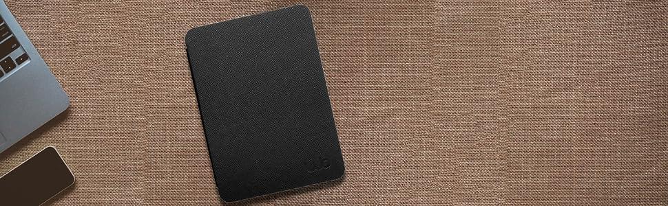Capa Novo Kindle Paperwhite Ultra Leve WB Preta