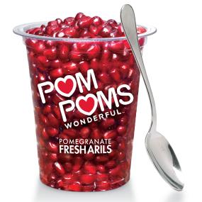 pom poms ready to eat pomegranate arils 4 3 oz single serve