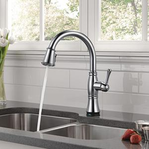Lovely Cassidy Pull Down Kitchen Faucet With Touch2O Technology