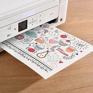 Impression stickers transparents personnalisables en ligne