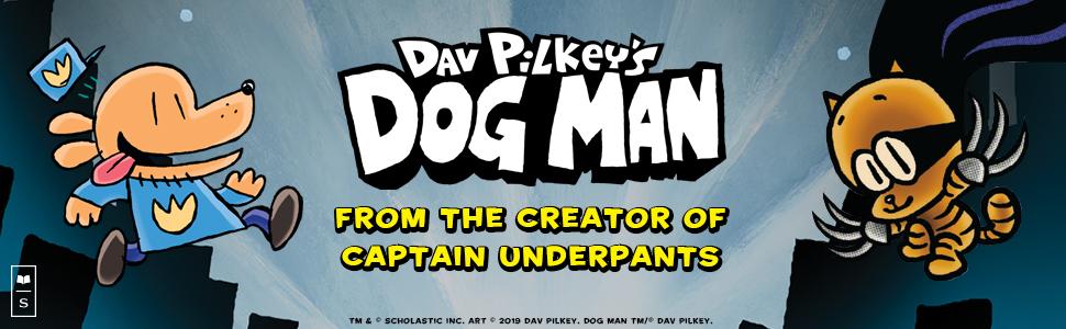 dog, cat, book, dog man, captain underpants, dav pilkey, police, cop, superhero