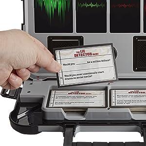 Hasbro Gaming - Juego de mesa Detector de mentiras (Hasbro E4641175): Amazon.es: Juguetes y juegos