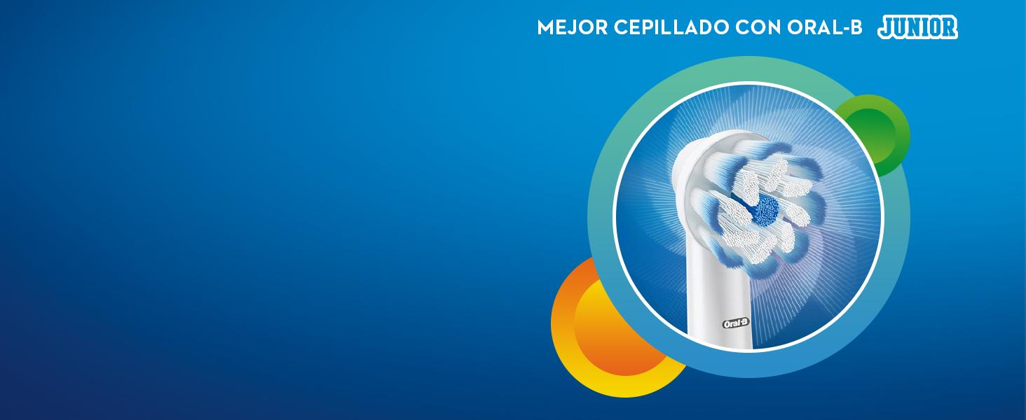 Oral-B Junior Cepillo Eléctrico 6+ Morado  Amazon.es  Salud y ... f4816e70df66