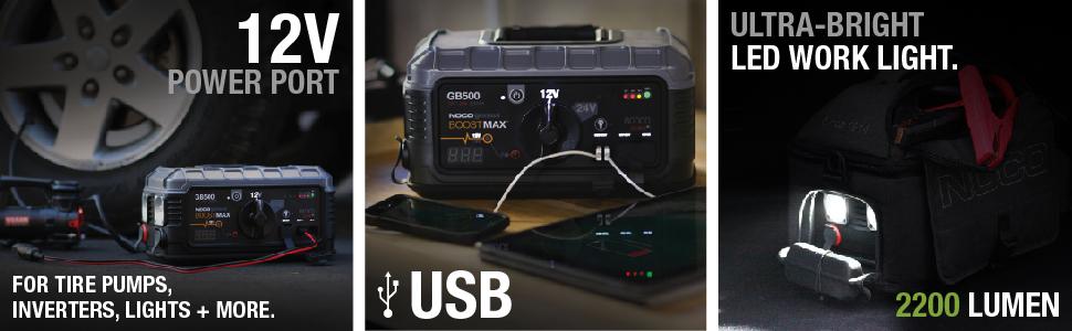 12 volt, pump, inverter, mobile power, 12 volt, recharge, emergency strobe, led flashlight, usb