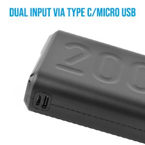 Dual Input and Output