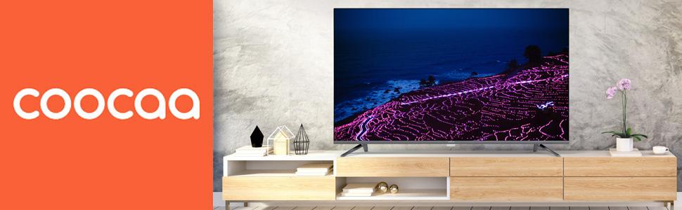 Coocaa Smart TV met netflix
