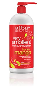 Very Emollient Honey Mango Bath & Shower Gel