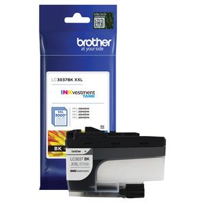 brother lc3037bk, black, ink, cartridge