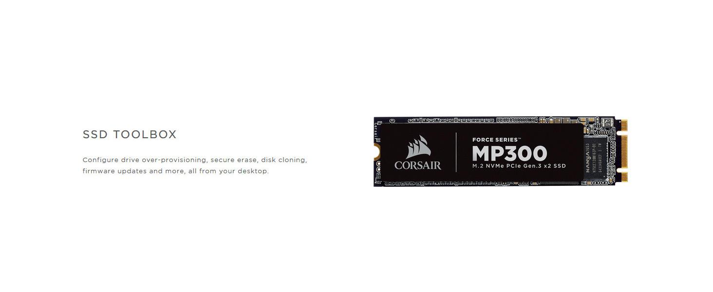 CORSAIR FORCE Series MP300 120GB NVMe PCIe M 2 SSD Solid State Storage