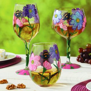 Hand-Blown and Hand-Painted