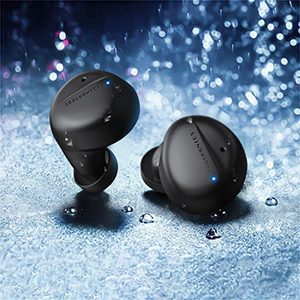Waterproof wireless earbuds