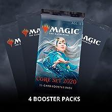 Packs of Magic cards