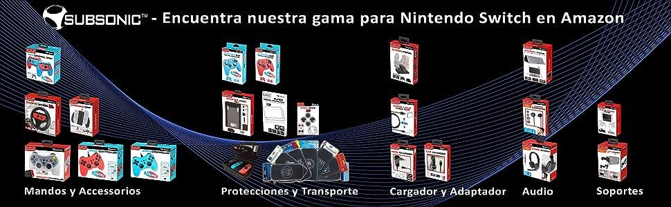 Subsonic FC Barcelona - Estuche All In One (Nintendo Switch): Amazon.es: Videojuegos