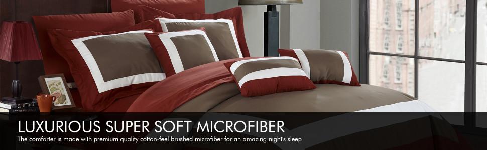 Chic Home Luxurious Super Soft Microfiber