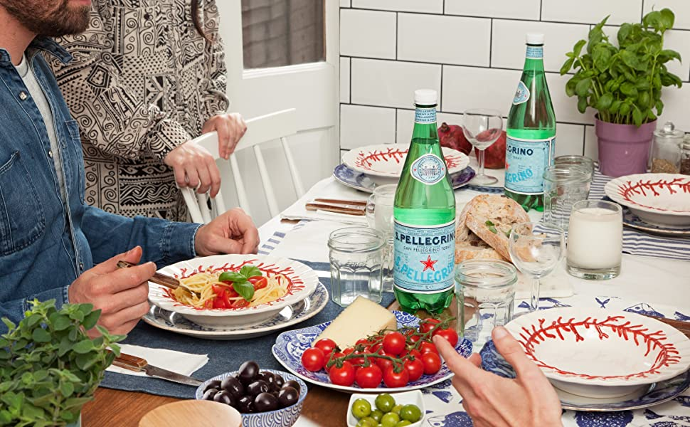 S.Pellegrino Sparkling Natural Mineral Water with Food