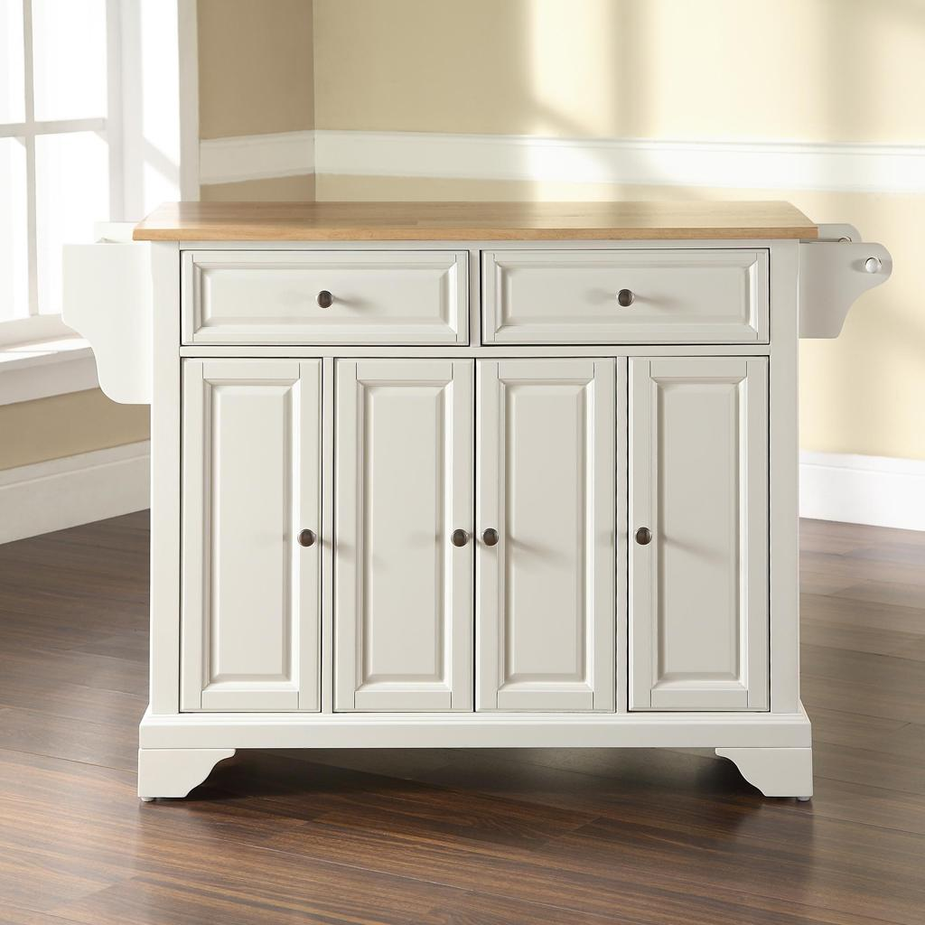 8 Kitchen Island: Crosley Furniture Rolling Kitchen Island With