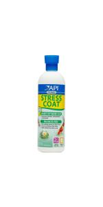 api pond stress coat water conditioner koi fish