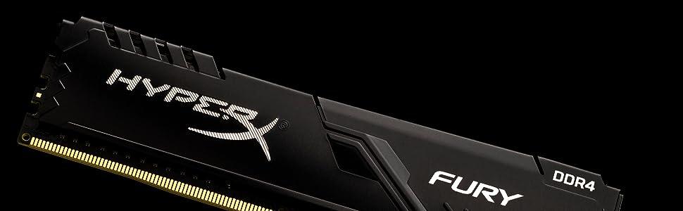 Hyperx Fury Black Hx424c15fb3k2 Computer Zubehör